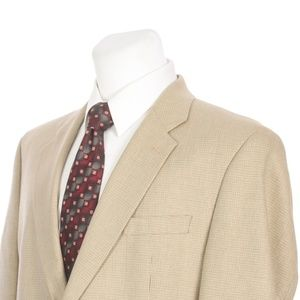 Ralph by Ralph Lauren Silk Blend Sport Coat Beige